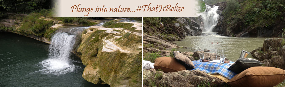 Plunge into nature.......that is Belize